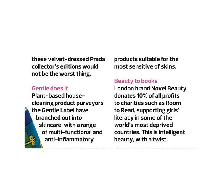 novel beauty observer mag