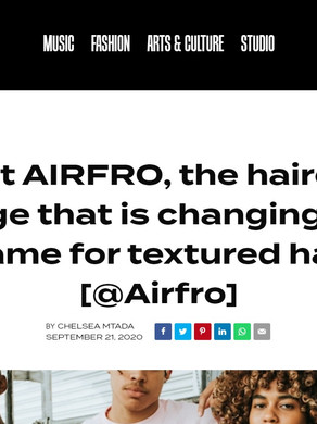 Meet AIRFRO, the haircare range that is changing the game for textured hair [@Airfro]