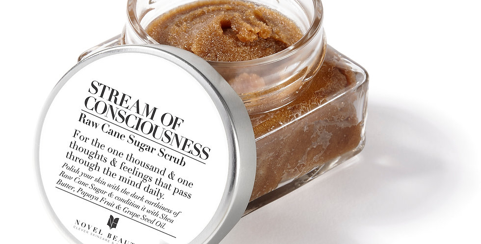 STREAM OF CONSCIOUSNESS | Raw Cane Sugar Scrub