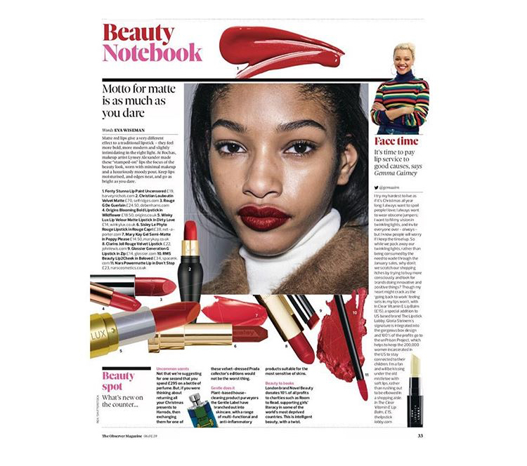observer mag novel beauty