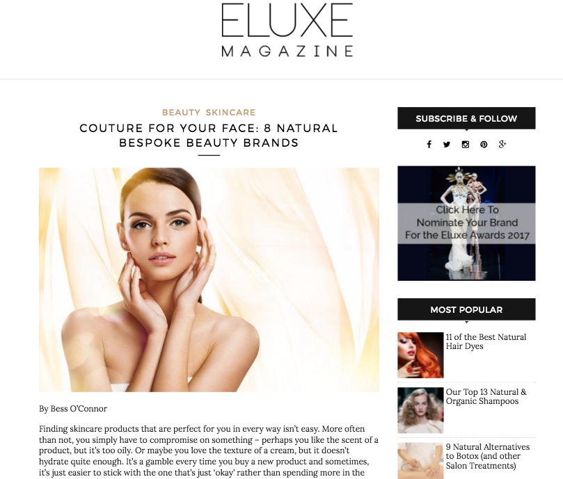 Eluxe Magaxine Review