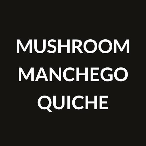 MANCHEGO MUSHROOM QUICHE