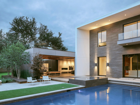 Stoneworks: Minimal and Modern in Texas