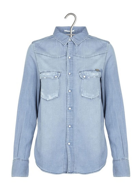 Acquaverde - jeans shirt