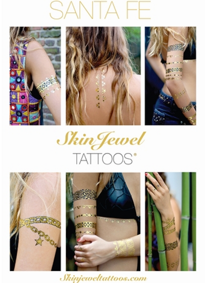 SKIN JEWEL TATTOOS -Santa Fe
