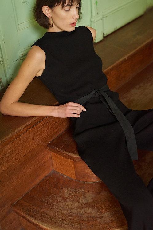 SOHO - WIDE-LEG JUMPSUIT BLACK