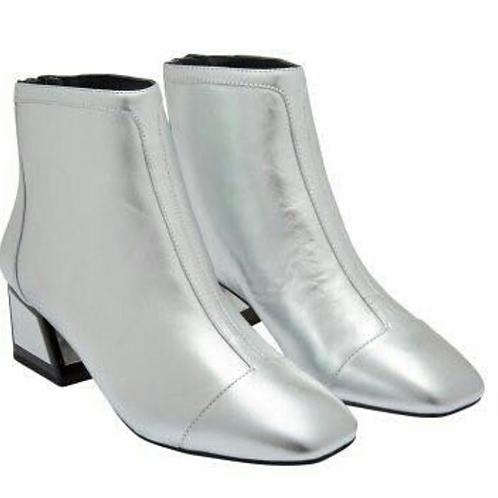 KAT MACONIE silver boot
