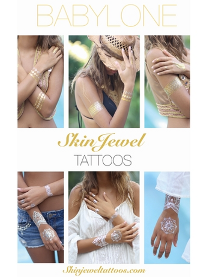 SKIN JEWEL TATTOOS - Babylone