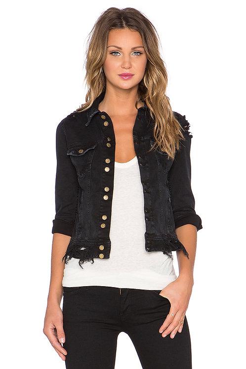 Acquaverde - black jeans jacket