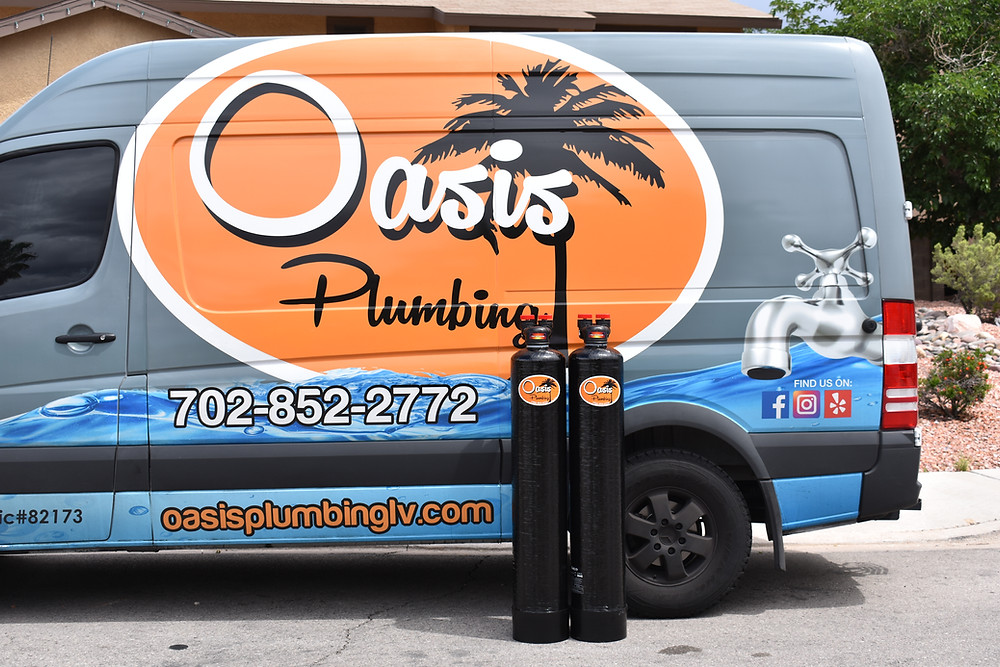 Oasis Plumbing for water softener installation needs.