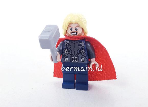 Lego Minifigure Thor - Marvel The Avenger