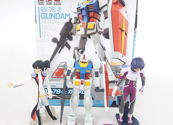 Gundam Rx-78-2 Entry Grade Pilot Gundam Seed Destiny Bandai Gasaphon