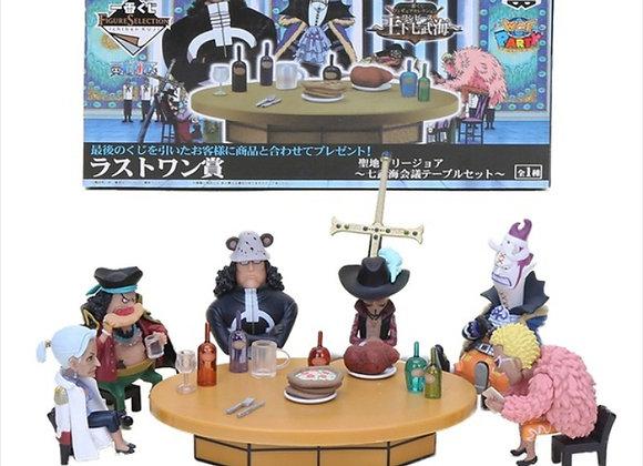 Wcf One Piece WCF Round Table Party Marines Pirates Dracula Mihawk Doflamingo