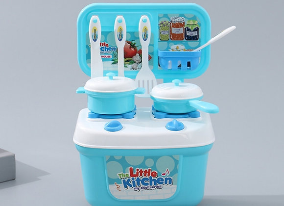 Pretend Play Toy Kit Little Kitchen Diy Mainan Anak