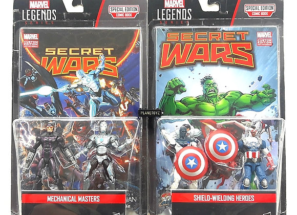 Marvel Lagends Secret Wars Mechanical Master & Shield Welding Heroes