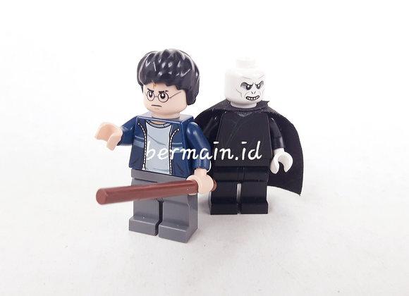 Lego Minifigure Harry Potter & Valdemort