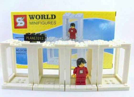 Word Minifigure SY306 Building Toy - Not Lego
