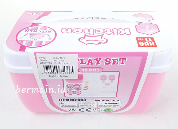 Kitchen Play Set Mainan Anak Hua Yi