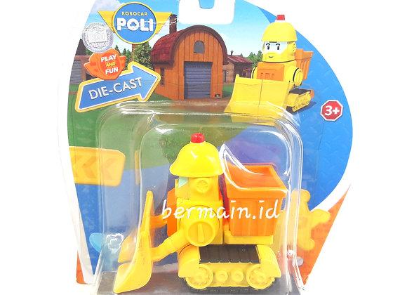 Robocar Poli Die Cast Bruner Silverlite