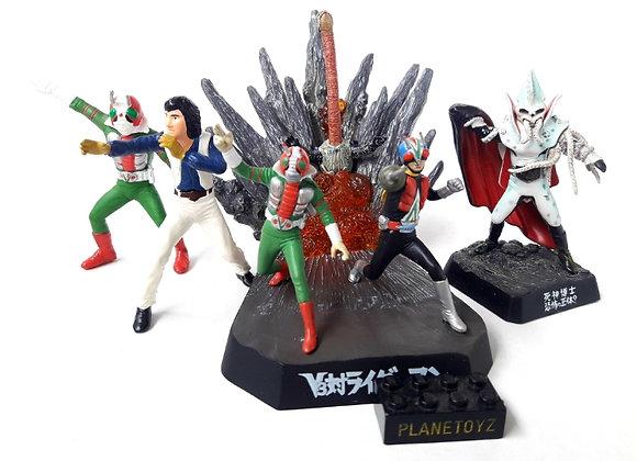 Kamen Rider V3 Ikadevil Meikan Diorama