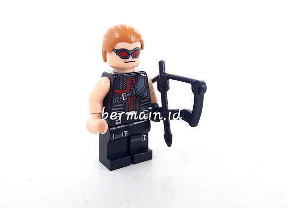 Lego Minifigure Hawkeyes - Marve The Avenger