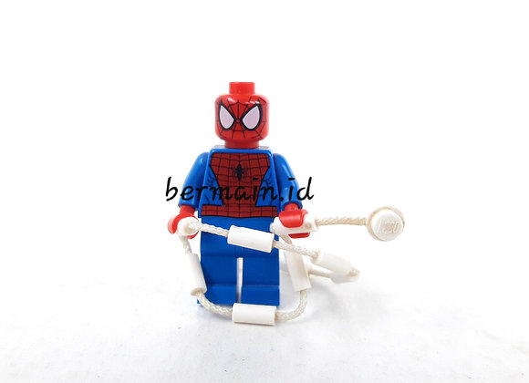 Lego Minifigure Spider man - Peter parker - Marvel The Avengers