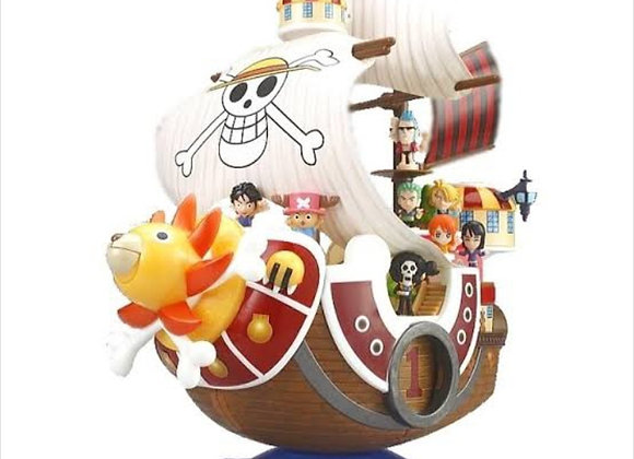 One Piece Thousand Sunny Pirates Straw Hat Candy Toys