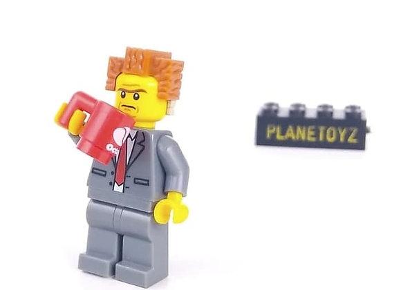 Lego Minifigure The Movie President Business - Emmeth - Wildstyle