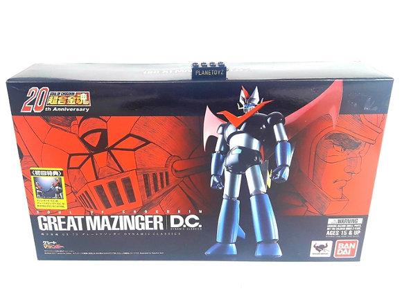 Soc Gx 73 Great Mazinger Dc Super Robot Bandai