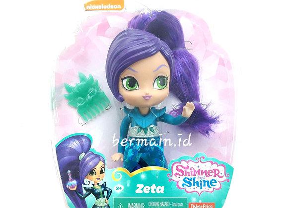 Boneka Shimmer & Shine Zeta Mainan Anak