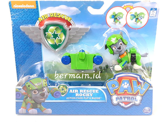 Paw Patrol Air Reascue Rocky Mainan Anak