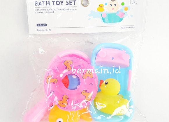 Mainan Anak Mandi Bath Toy Set Duck
