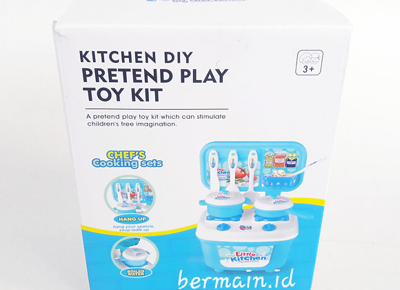Mainan anak Kitchen Chef Cooking Sets