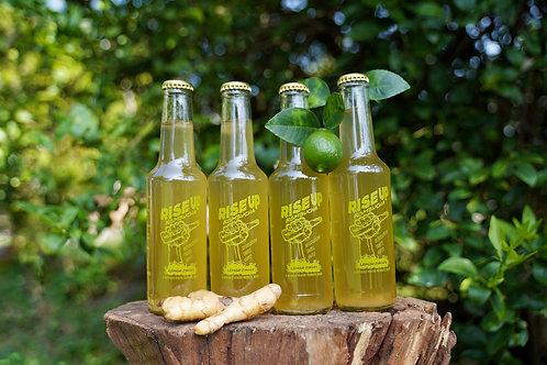 Rise Up Kombucha 4x Lemon Zinger