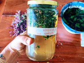 5 Uses for Kombucha (or any natural) Vinegar