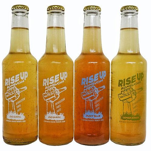 Rise Up Kombucha 4x Mixed Pack!