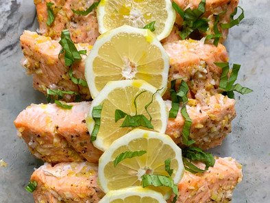 30-Minute Lemon Salmon Recipe