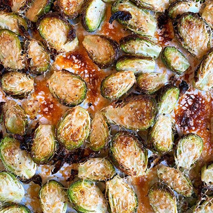 Parmesan Brussel Sprouts