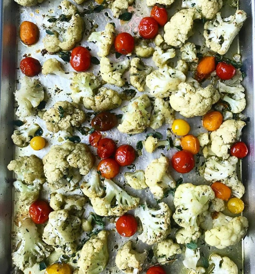 Mediterranean Cauliflower Recipe