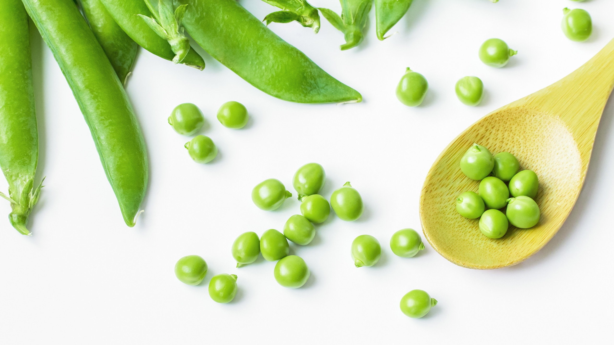 One cup of peas has 8 grams of protein. Mash them up with some mint and a little butter for a quick side dish, make them into a soup or toss them into salads.