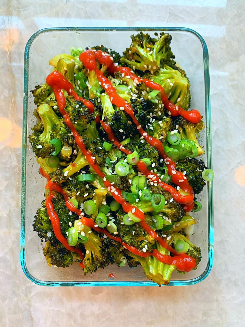 Spicy Sriracha Broccoli Recipe