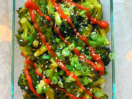 Quick & Easy Side: Spicy Sriracha Broccoli