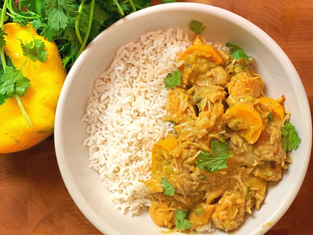 Fall Coconut Curry with Squash