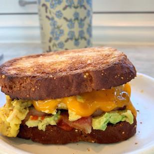 Gluten-Free Breakfast Sandwich