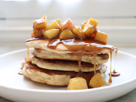 The ULTIMATE Apple Pancakes