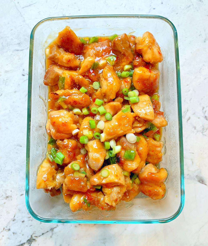 healthy orange chicken recipe