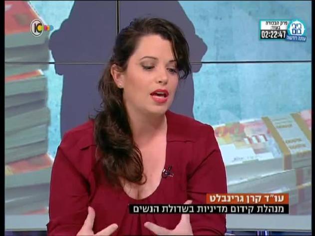 Haaretz op-ed, The Israeli Government is the Men's Lobby, 2014