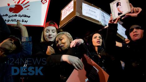 i24News, Interview on nationwide protests against gender based violence, Dec. 2018