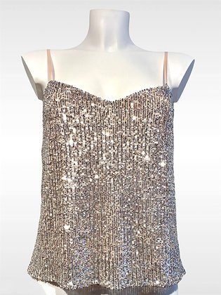 KELLY Camisole sequins
