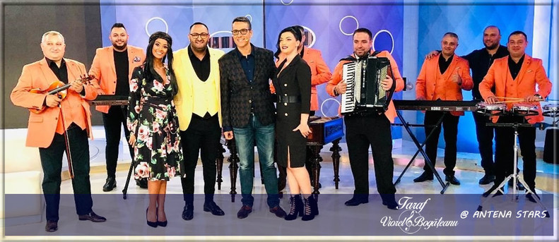 Taraful VIOREL BOGĂȚEANU la ANTENA STARS / Agenția VIP